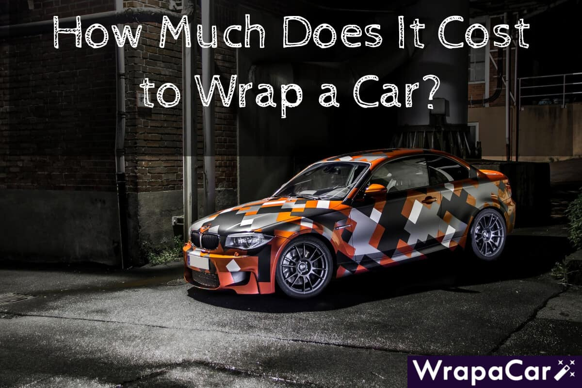 How Much Does It Cost To Wrap A Car Wrapacar